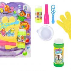 Set baloane de sapun cu manusi pentru captare baloane