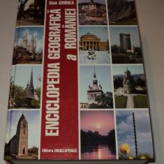 Enciclopedia geografica a Romaniei, Dan Ghinea, 2000, editia a 2-a, Alta editura