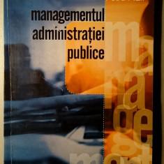 Managementul administratiei publice - Petru Filip