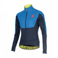 Jacheta de iarna Castelli Passo Giau, Albastru/Negru, iarna 2015, XL Bike Collection - Geaca XXXL