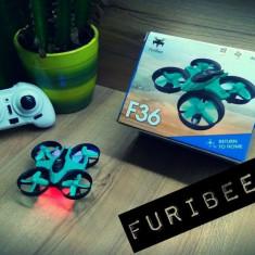 Mini Drona F36 Furibee, Nou la cutie. 6 Axis Gyro, One key home, Wireless 2.4ghz