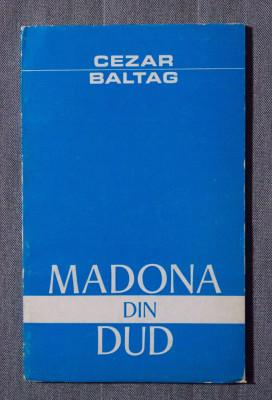 Cezar Baltag - Madona din dud (tiraj 1300 ex.) foto