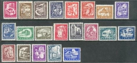 1960 Romania,LP 498-Uzuale-Domenii de activitate economica-MNH foto mare