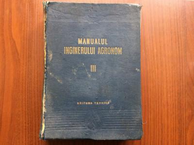 manualul inginerului agronom III zootehnia editura tehnica 1954 ilustrata foto