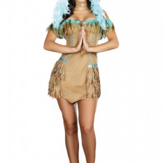 B177 Costum Halloween Pocahontas, Marime: S/M