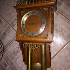 Superba pendula ,ceas de perete cu 2 greutati in stil francez