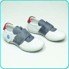 NOI, DE FIRMA → Pantofi sport—adidasi, din piele, MELANIA → baieti | nr. 33 - Pantofi copii Melania, Culoare: Din imagine, Piele naturala