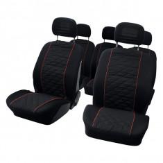 Set huse scaune auto pentru Renault Scenic 10 bucati pentru 5 scaune separate B - Husa scaun auto