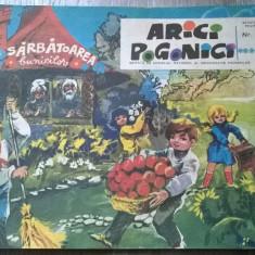 REVISTA ARICI POGONICI NR.11/1971 - Reviste benzi desenate