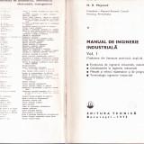 MANUAL DE INGINERIE INDUSTRIALA -VOL 1, Alta editura