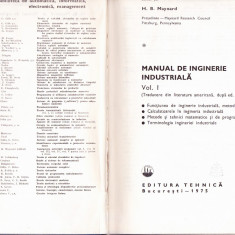 MANUAL DE INGINERIE INDUSTRIALA -VOL 1