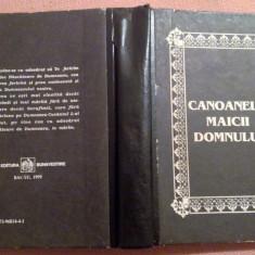 Canoanele Maicii Domnului pe opt glasuri care se citesc la Pavecernita, Alta editura