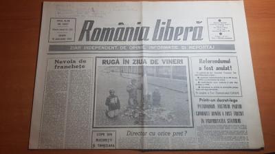 romania libera 19 ianuarie 1990-patrimoniul PCR trecut in proprietatea statului foto