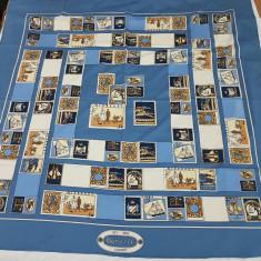 Esarfa model Burberry - Esarfa, Sal Dama Burberry, Culoare: Bleu, Marime: Masura unica