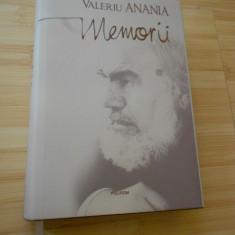 VALERIU ANANIA--MEMORII - Carte Monografie