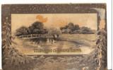 CPI B 10207 CARTE POSTALA - PEISAJ DE IARNA, 1908, Necirculata, Fotografie
