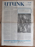 ZIARE VECHI - UTUNK - DECEMBRIE 1989 - CLUJ - ZIAR IN LIMBA MAGHIARA