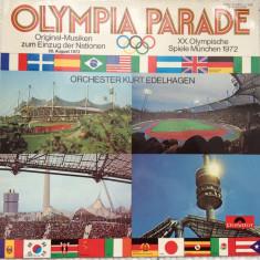 Kurt edelhagea olympia parade munchen 1972 disc vinyl Muzica Pop Polydor jazz big band, VINIL