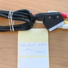 Cablu Scart - 2RCA Tata 1, 4m (40281), Cabluri SCART