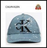 Sapca Calvin Klein Denim- Originala - Reglabila - 100% Bumbac - Detalii in anunt, Marime universala, Calvin Klein