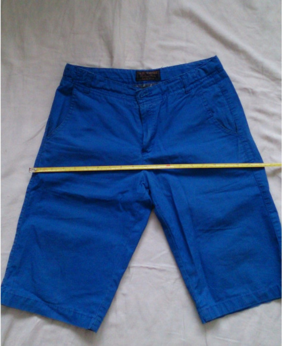 Pantaloni albastri 160 size 14 foto mare