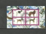 BURUNDI 2011 - CAINI DE VANATOARE, bloc stampilat T18