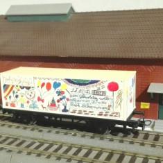 Vand vagon container trenulet HO - Macheta Feroviara Marklin, 1:87, H0 - 1:87, Vagoane