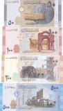 Bancnota Siria 50 - 500 Pounds 2009/13 - P112-115 UNC ( set x4 bancnote )
