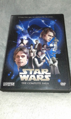 Star Wars Complete Saga - 8 DVD subtitrate romana foto