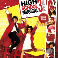 High School Musical 3 album stickere - Cartonas de colectie