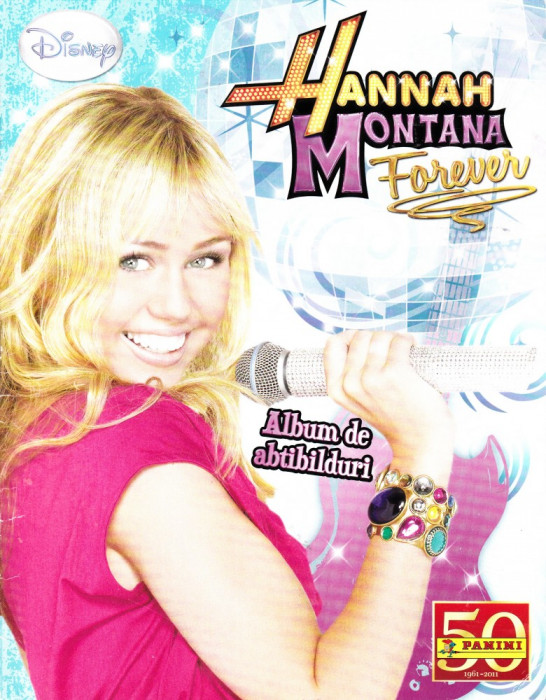 Hannah Montana album stickere foto mare