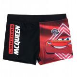 Slip de baie tip boxeri Disney Cars rosu/negru