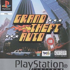 GTA - Grand Theft Auto PLATINUM - PS1 [Second hand] - Joc PS1, Actiune, Multiplayer, Toate varstele