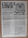 ZIARE  VECHI - CLUJUL LIBER - ANUL 2 - NR. 1 ( 3 ) - 6 IANUARIE 1990