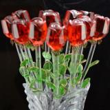 Trandafiri de Cristal - 12 bucati