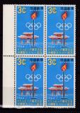 RyuKyu  1964  sport  olimpiada  MI 153  bloc de 4   MNH  w49, Nestampilat