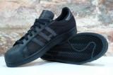 Adidasi Originali Adidas SUPERSTAR Triple Black 100% Autentici !, 40, 40 2/3, 41 1/3, 42, 42 2/3, 44, 44 2/3, Textil
