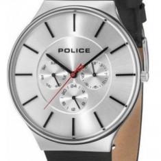 Police Seattle 15044JS/04 ceas barbati 100% original Garantie. Livrare rapida. - Ceas barbatesc Police, Casual, Quartz, Inox, Piele, Ziua si data