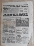 """ZIAR """"ADEVARUL"""" EXPRESIE A OPINIEI PUBLICE DIN CLUJ - ANUL 1 NR. 2 - 24 DEC 1989"""