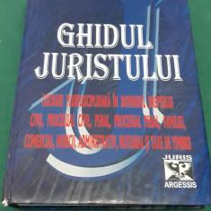 GHIDUL JURISTULUI / CONSTANTIN CRIȘU/ EDIȚIA A X-A/ 2007 - Carte Jurisprudenta