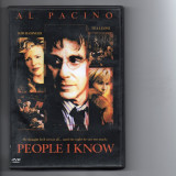 PEOPLE  I  KNOW- DVD - film, Romana