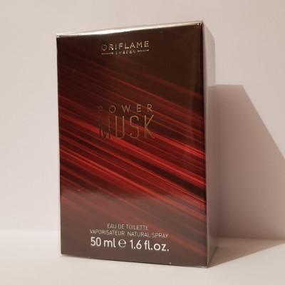 Apă De Toaletă Power Musk Pt Barbati Oriflame Apa De Toaleta 50