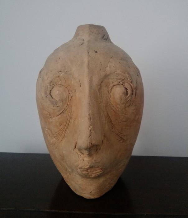 Studiu chip// sculptura lut, ceramica foto mare