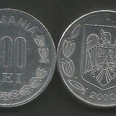 ROMANIA   500   LEI  2000   [1]   livrare in cartonas