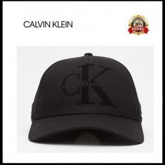 Sapca Calvin Klein - Originala - Reglabila - 100% Bumbac - Detalii in anunt - Sapca Barbati Calvin Klein, Marime: Marime universala, Culoare: Negru