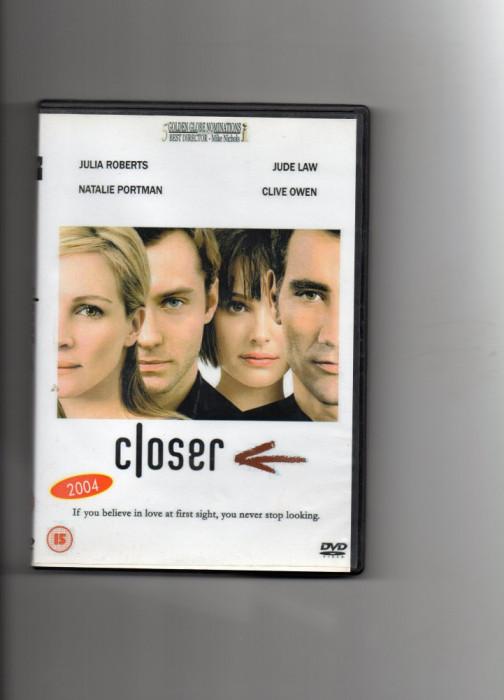 CLOSER - DVD - film