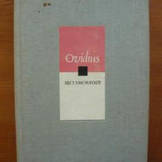Ovidius - Metamorfoze - Carte mitologie