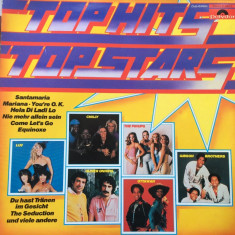 Top hits top stars club edition disc vinyl lp Muzica Pop Polydor dance disco compilatie, VINIL