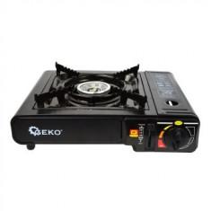 Aragaz turistic, camping, Geko G80521, arzator si gratar, alimentare cu cartus gaz butan