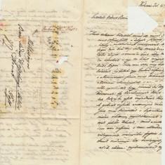 1848 Austria Ungaria scrisoare prefilatelica trimisa la baron Wesseleny din Cluj